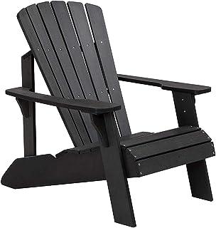 ZDYLM-Y Adirondack Gartenstuhl, Moderner Patio-Liegestuhl, wetterbeständig für Patio-Deck-Garten-, Garten- und Gartenmöbel