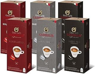 Gran Caffè Garibaldi Nespresso compatible capsules - 60 Count (Variety Pack)
