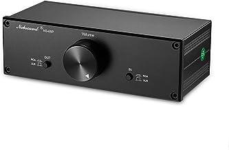 Nobsound Mini Fully-Balanced/Single-Ended Passive Preamp; Hi-Fi Pre-Amplifier; XLR/RCA Volume Controller for Active Monito...