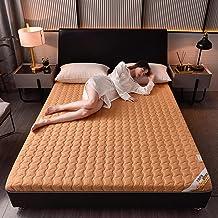 Japanese Floor Mattress Futon Mattress,Japanese Tatami Mattress Cotton,Thicken Sleeping Pad Roll Up Guest Mattress Floor B...