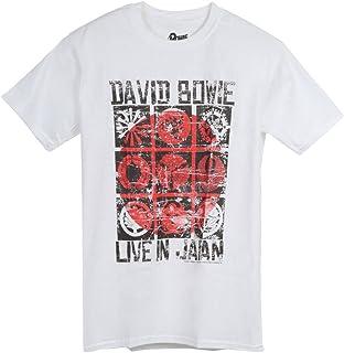 DAVID BOWIE デヴィッド・ボウイ (Space Oddity発売50周年記念) - LIVE IN JAPAN/Tシャツ/メンズ 【公式/オフィシャル】