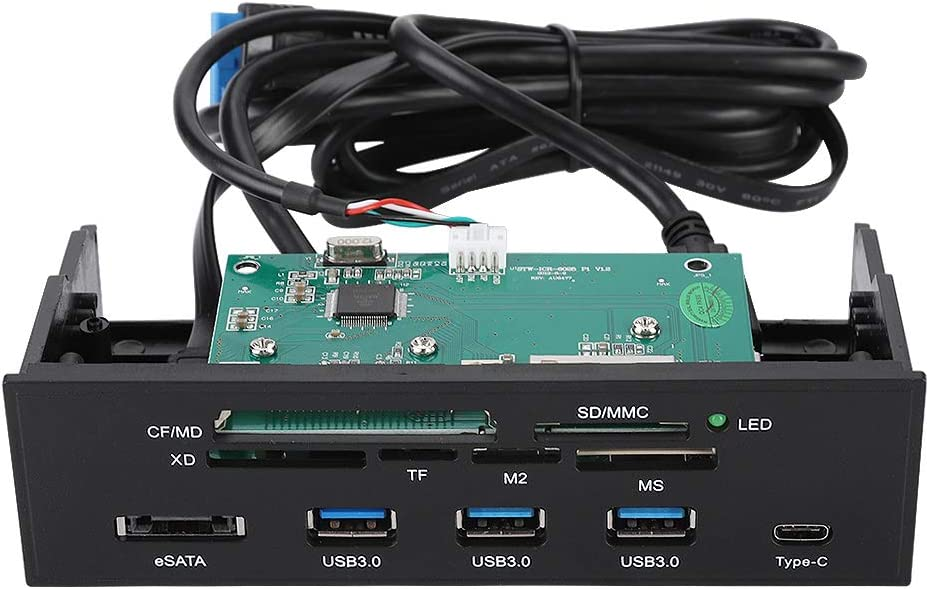 ASHATA 5.25inches Internal Card Multifunction Reader Popular Sacramento Mall popular PC Dashboar