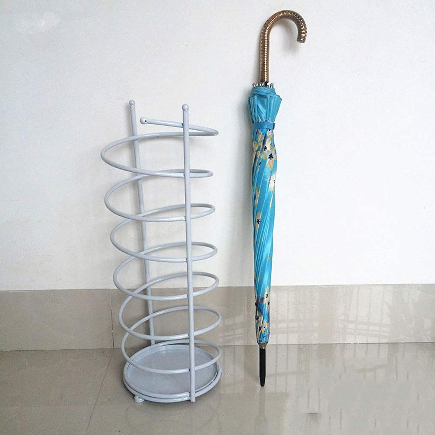 GAIXIA Creative Wrought Iron Umbrella Stand Umbrella Stand Storage Umbrella Umbrella Stand Hotel Lobby European Household Umbrella Stand 20  61cm 24  61cm 28  61cm Umbrella Stand (Size   S)