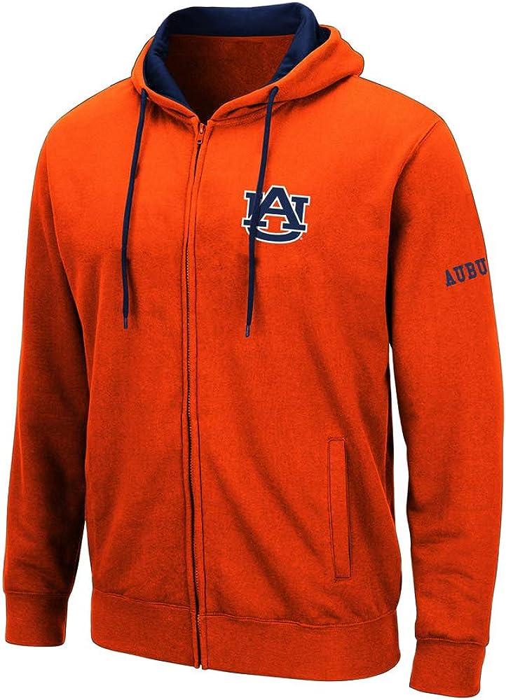 COLOSSEUM ATHLETIC Auburn Full Zip Fleece ORNAGE Men's (XL)