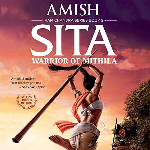 Sita: Warrior of Mithila audiobook cover art
