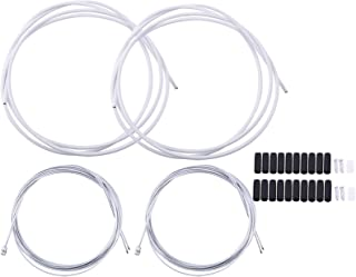 Bike Maiusc Freno Wire End Caps 50pcs Professionale Bicicletta Maiusc Freno Wire End Caps Deragliatore Cable Cap