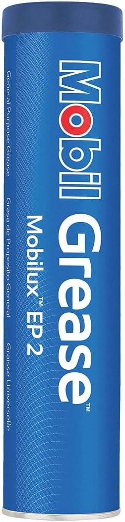 Mobil 122136 EP 2, EP Grease, NLGI 2, 13.7 oz.