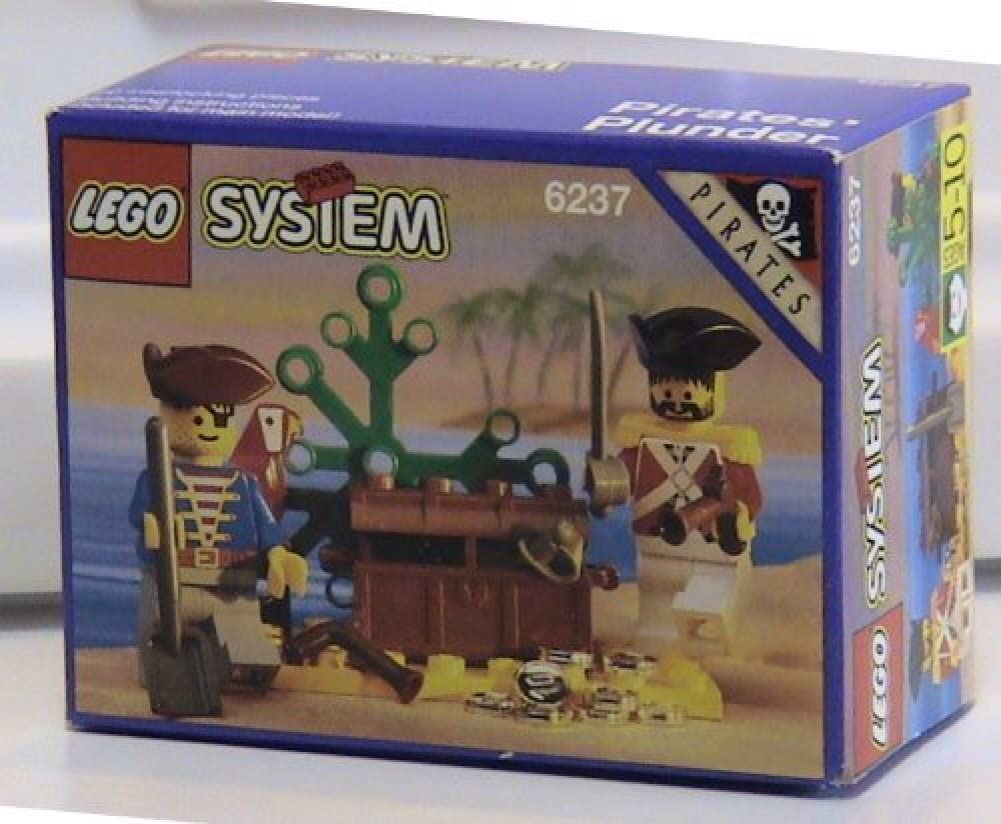 All items free shipping Lego Pirates New Orleans Mall 6237 Plunder