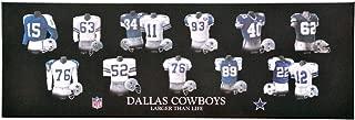 Winning Streak NFL Dallas Cowboys Legacy Uniform Collection Plaque, Black, One Size