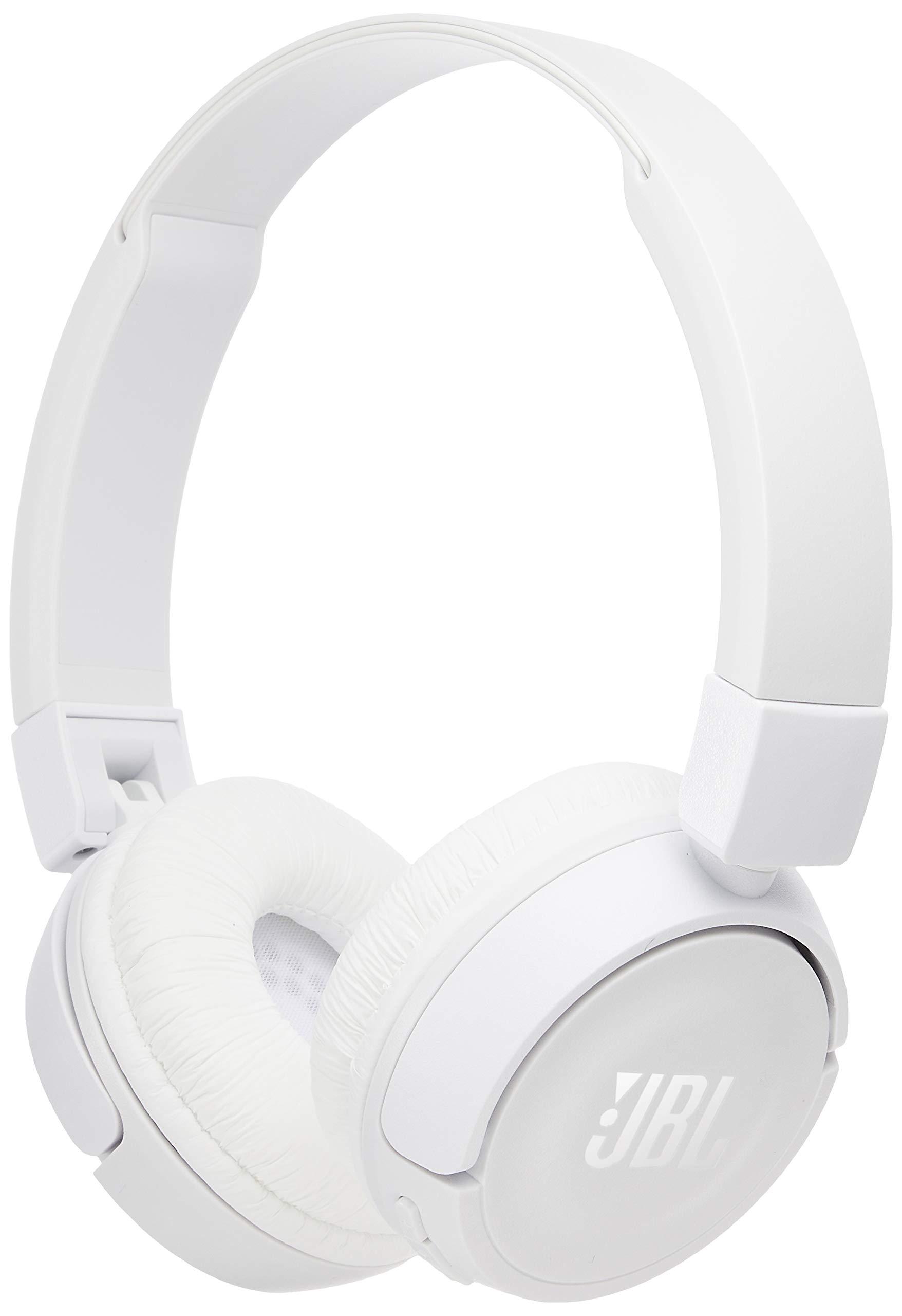 JBL T450BT Bluetoothヘッドセット同封/インデント/折りたたみ式ホワイト