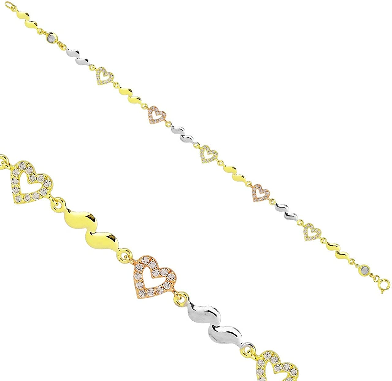 Anelise Gemstone Pendant 14k Solid Gold Yellow Limited time cheap sale Sale price Bracelet gr 3.70