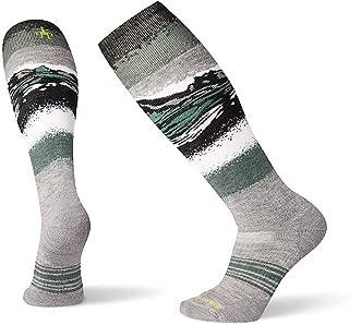 PhD Outdoor Light Crew Socks - Men's Ski Medium Pattern Wool Performance Sock