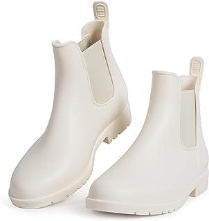 White / Rain Footwear