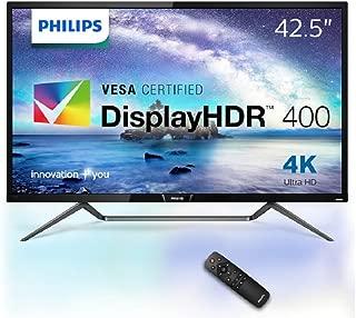 PHILIPS モニター ディスプレイ 436M6VBRAB/11 (42.5インチ/「Display HDR 400」認証/HDMI/USB Type-C/4K/5年保証)