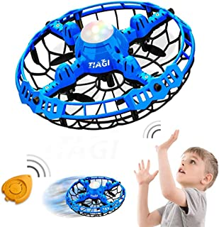 Tiagi Hand Operated Drones Toys for Kids or Adults - Mini Drones Hand Controlled Flying Ball Drone for Boys and Girls Moti...