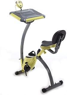 Folding Exercise Bike,Exercise Bikes,Adjustable Desk Folding Exercise Bike,Standing Adjustable Desk Bike for Exercising fo...