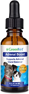 Green Vet Best Canine Cushings Drops – Premium Adrenal Support for Dogs – Herbal Dog Cushings Supplement for Overall Health and Wellbeing