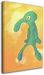 Colla Old Bold And Brash Squidward Art Artic None Frame Decorative Painting For Living Room Bedroom