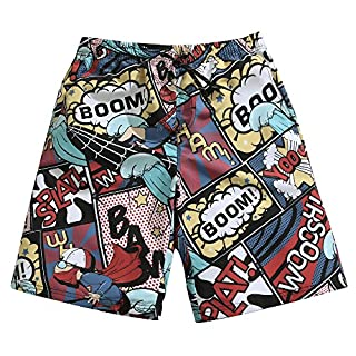 Mens Ultra Quick Dry Surfing Heroes Fashion Board Shorts 2X-Large 37-38 (B07773QNSW) | Amazon price tracker / tracking, Amazon price history charts, Amazon price watches, Amazon price drop alerts