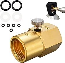 YOMERA Soda-Adapterventil mit Schalter Innengewinde TR21-4 auf Außengewinde W21.8-14 für SodaStream für Große Kohlendioxid...