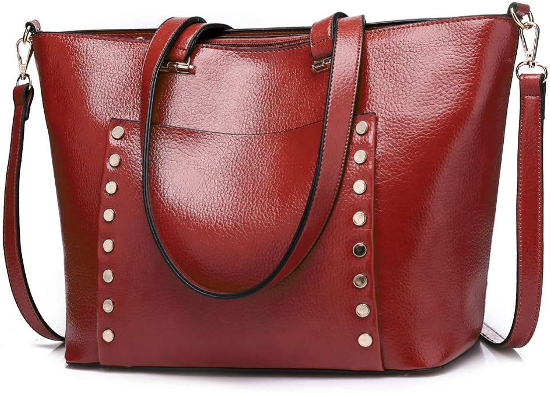 Lidoudou Lidoudou Lidoudou Handtasche Umhängetasche Dame große Tasche Mode einfache große Kapazität Größe (Höhe 31 cm, Breite 26 cm) Material Rindsleder B07PBDSRPZ  Explosive gute Güter 542c6f
