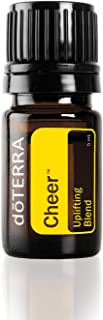 doTERRA - Cheer Essential Oil Uplifting Blend - Optimistic Aroma Promotes Feelings of Cheerfulness and Happiness, Counteracts Negative Emotions; for Diffusion or Topical Use - 5 mL