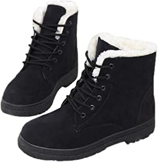 Qusanyua Snow Boots Winter Ankle Boots Women Shoes Winter Boots Fashion Shoes