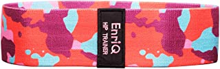 EnriQ Booty Bands Fabric Resistance Bands for Legs and Butt - Non Slip Cloth Hip Bands Elastic Workout Bands - Activate Glutes and Thighs - Made of Premium Elastic Fabric