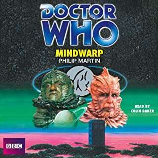 Doctor Who: Mindwarp (Classic Novel) cover art