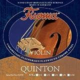 FISOMA Quinton Saiten für Violine 4/4 Satz - die anspruchsvolle Schülersaite, mit prachtvollem, reinen Ton bei Leichter Ansprache - Made...