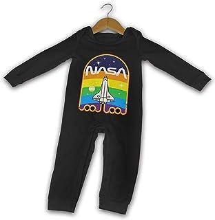 NASA Espacio Verano Manga Larga Niñas Niños Bebé Mameluco De Algodón Recién Nacido Bebé Body Traje Bebé Pijama Niño Mono
