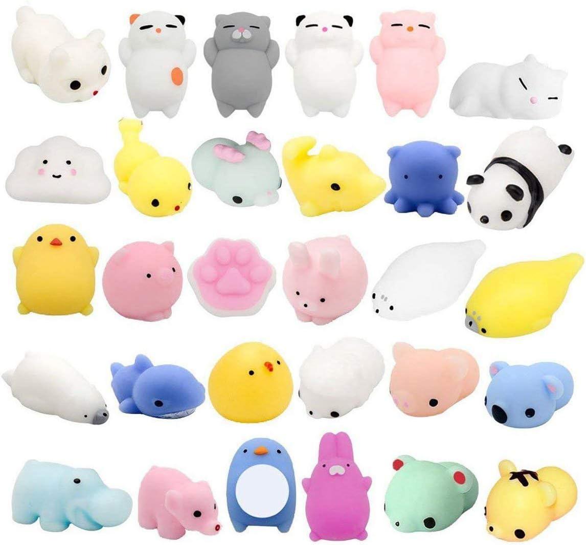 Max 47% OFF Fstop Labs 30PCS Mochi Squishy Stress S Mini Toys Japan Maker New Animal
