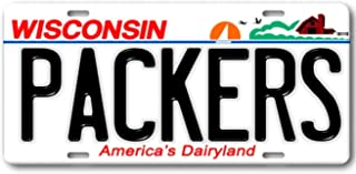 Forever Signs Of Scottsdale Green Bay Packers Wisconsin Aluminum Metal License Plate Tag NFL NFC Football