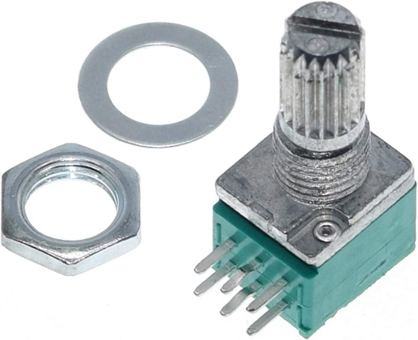 ZHENXKJ Potentiometer Outlet sale unisex feature 1PCS 6pins RK097N B10K B100K B5K B20K B50K