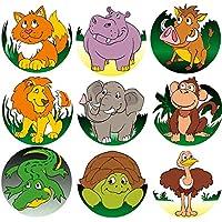 200-Count Gloss Trick Animal Reward Stickers