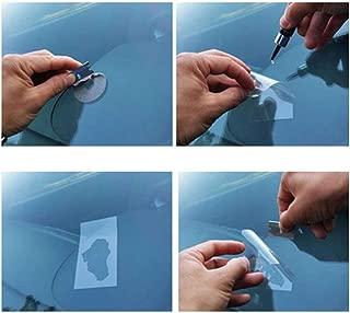 Momorain Kits de reparación de Parabrisas Herramienta de restauración de arañazos de Vidrio de Ventana de Coche DIY Herramienta de reparación de Pulido de Parabrisas para Grietas