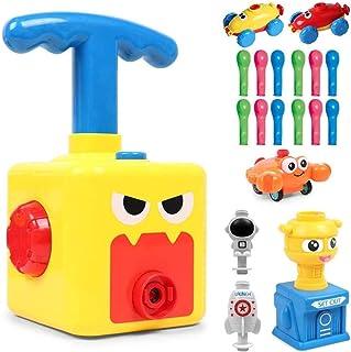 Versión Mejorada Juguete Lanzador De Globos Para Coche, Bomba Inflable Aerodinámica Para Niños Para La Familia Preescolar Ciencia Creativa Educación Regalos Para Niños (B)