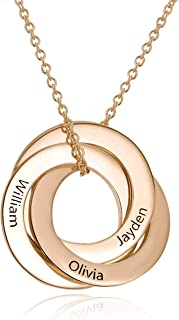 Best russian ring necklace rose gold Reviews