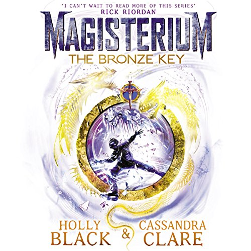 Couverture de Magisterium: The Bronze Key