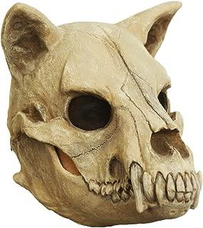 Dog Skull Mask for Halloweeen White