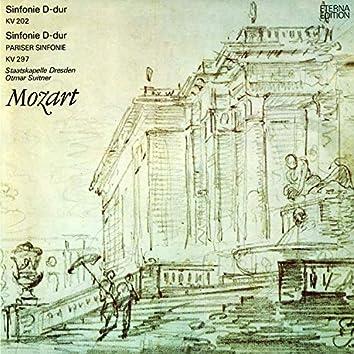 Mozart: Sinfonie No. 30 / Pariser Sinfonie