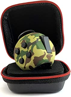 PILPOC theFube Fidget Cube - Premium Quality Fidget Cube Ball with Exclusive Protective Case, Stress Relief Toy (Camouflage Green)