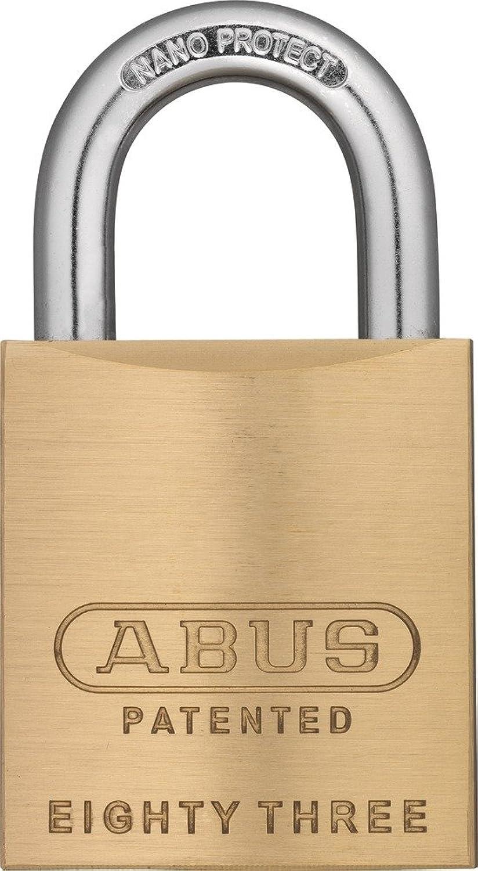 ABUS 83 45-100 Rekeyable Brass Padlock Keyed Different