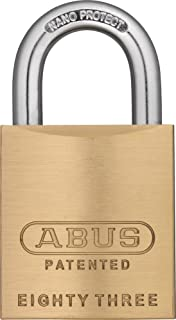 ABUS 80015 Rekeyable Steel Keyed Different Padlock
