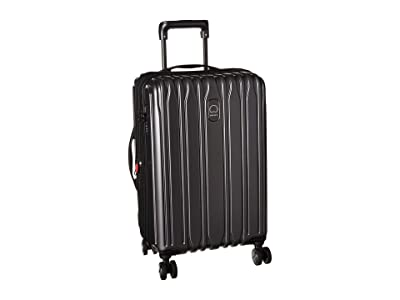 Delsey Chromium Lite Expandable Spinner Carry-On (Graphite) Carry on Luggage