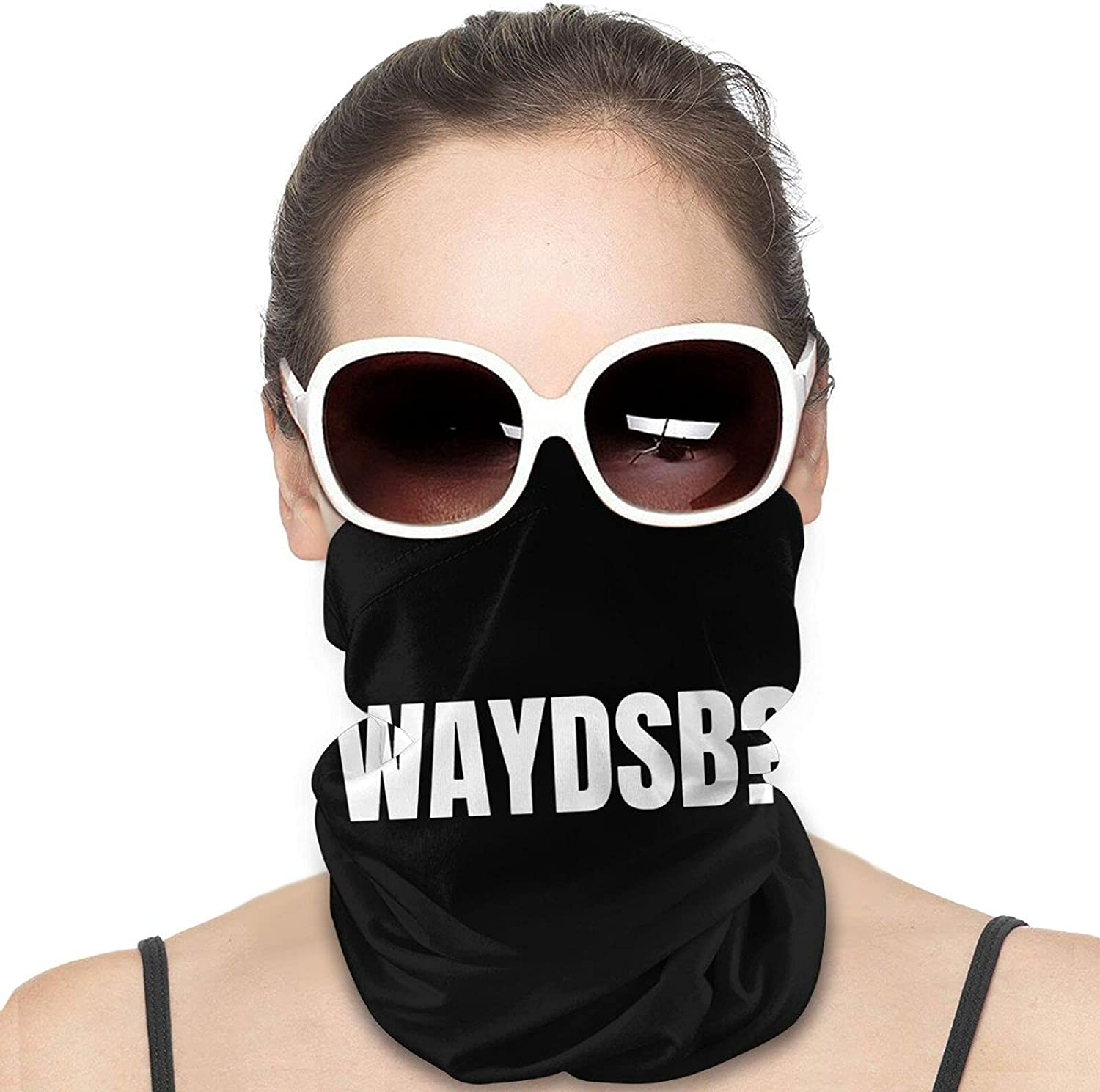 WAYDSB What Are you Doing Step Bro Round Neck Gaiter Bandnas Face Cover Uv Protection Prevent bask in Ice Scarf Headbands Perfect for Motorcycle Cycling Running Festival Raves Outdoors