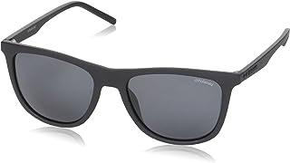 نظارات شمسية للرجال بتصميم مستطيل Pld 2049/S بلون اسود غير لامع من بولارويد