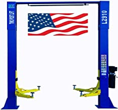 CHIEN RONG CR L2910 220V Overhead Two Post Lift 9,000 lbs Capacity Car Auto Truck Hoist 12 Month Warranty