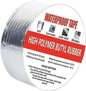 Aluminum Butyl Tape, Outdoor Waterproof Tape, Excellently Stop Leak Duct Sealant Tape, UV Resistant VOC-Free Outdoor Repai...