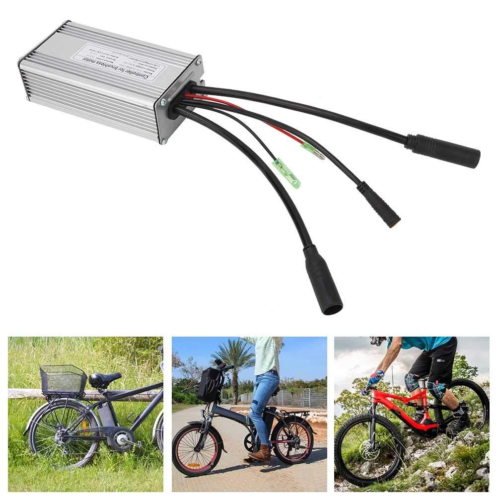GXMZL Kit eléctrico de Bicicleta - Controlador de Kit eléctrico Modificado de Bicicleta de montaña 36V / 48V Universal 500W / 750W: Amazon.es: Hogar